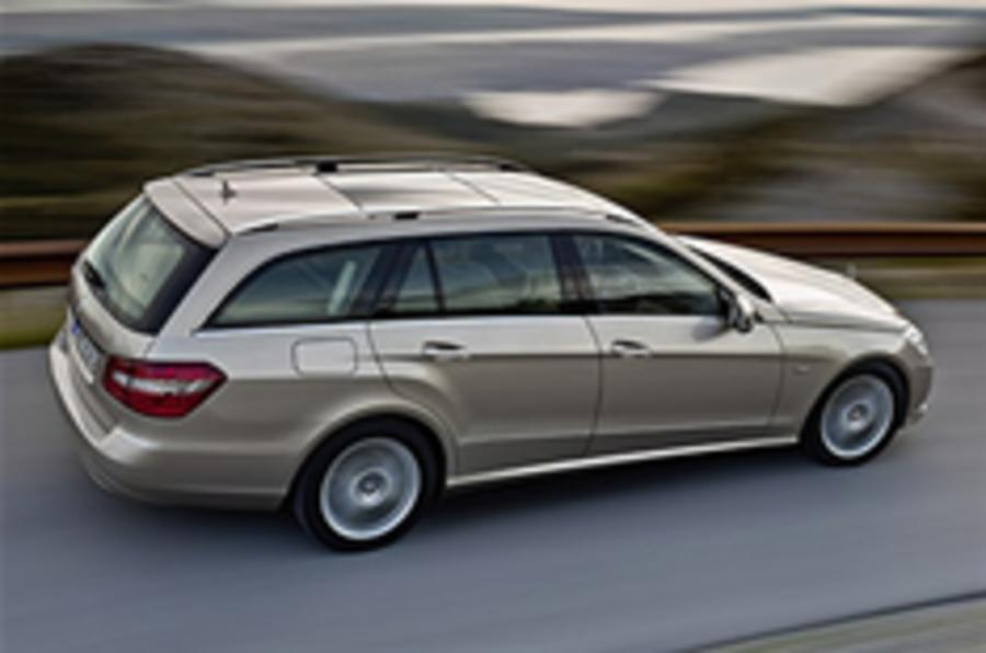 Mercedes E-class estate unveiled