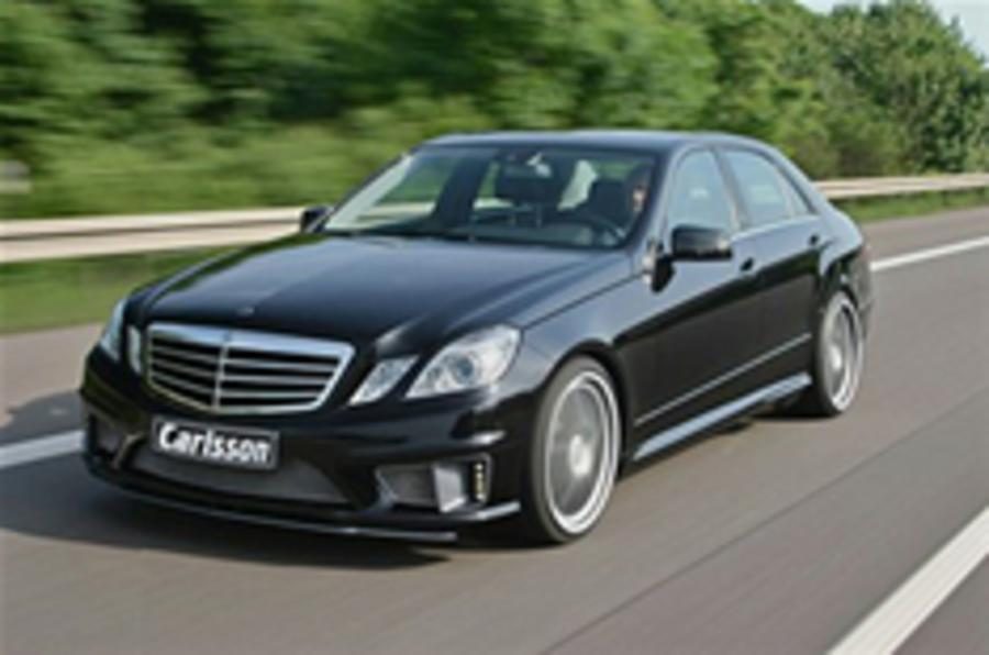 576bhp Mercedes E63 AMG