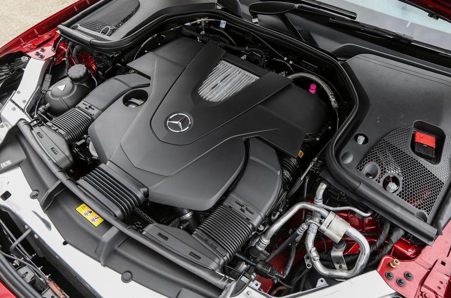 3.0-litre V6 Mercedes-Benz E-Class Coupé engine