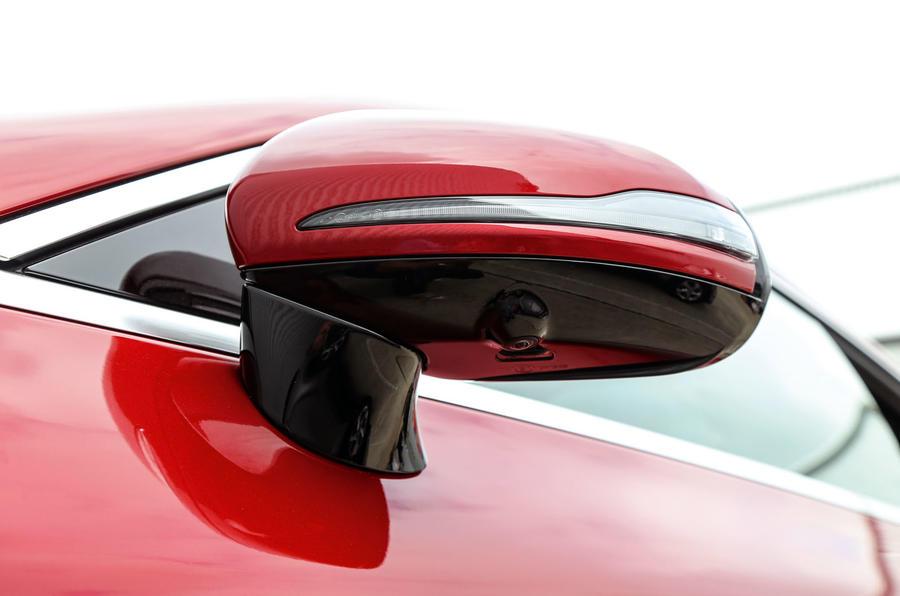 Mercedes-Benz E-Class Coupé wing mirror