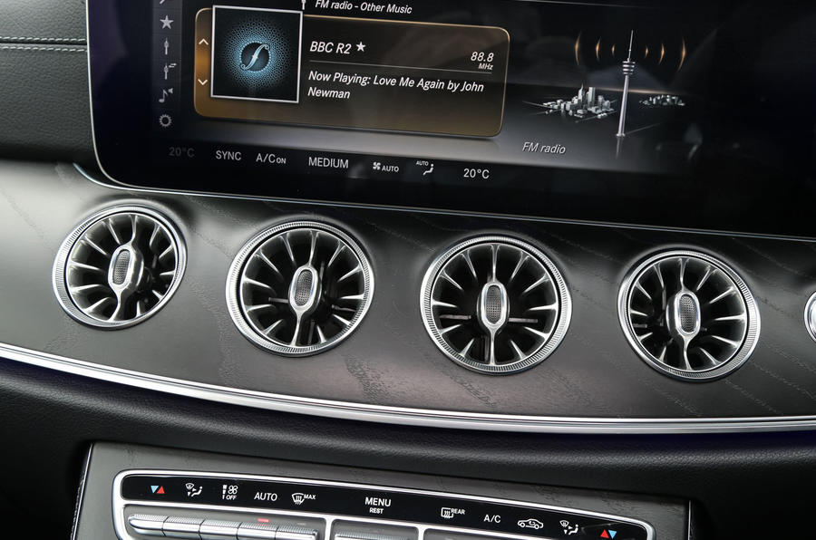 Mercedes-Benz E-Class Coupé air vents