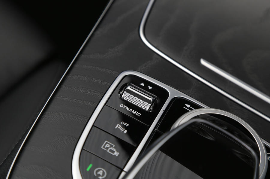 Mercedes-Benz E-Class Coupé dynamic controls