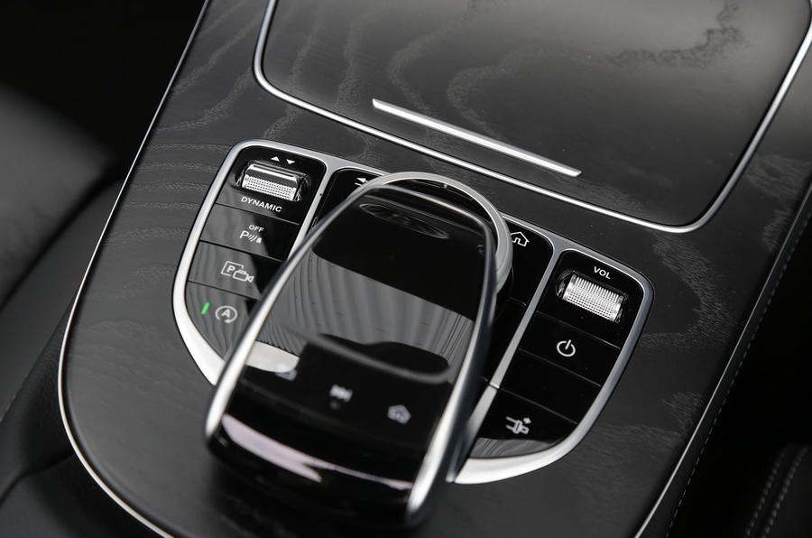 Mercedes-Benz E-Class Coupé infotainment controller