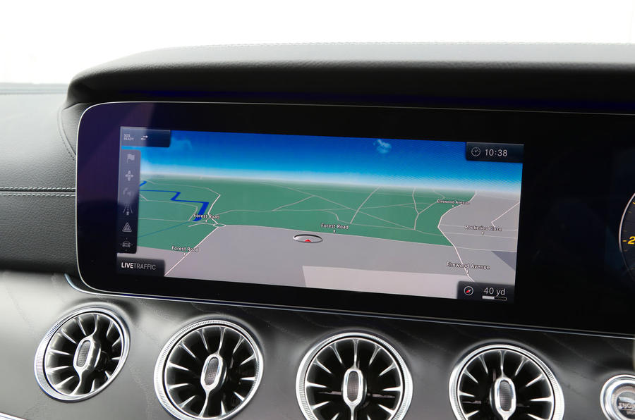 Mercedes-Benz E-Class Coupé infotainment system