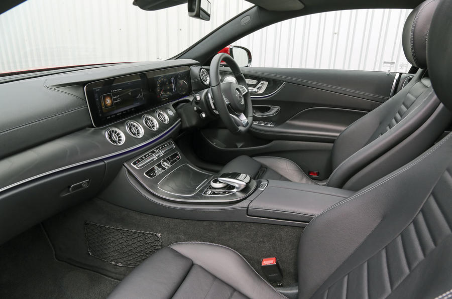 Mercedes-Benz E-Class Coupé interior
