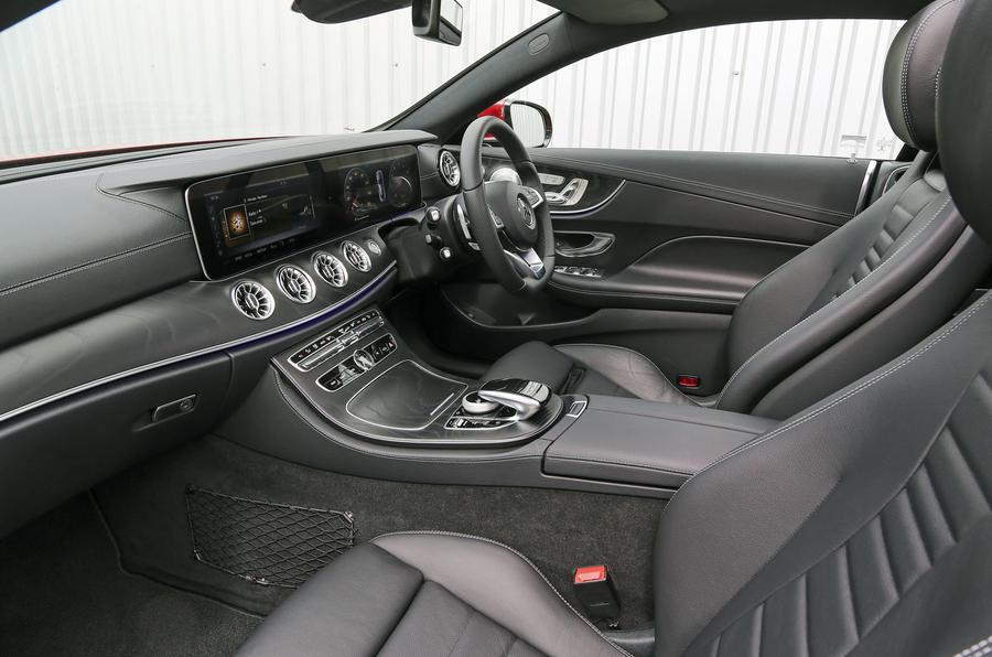 Mercedes-Benz E-Class Coupé interior