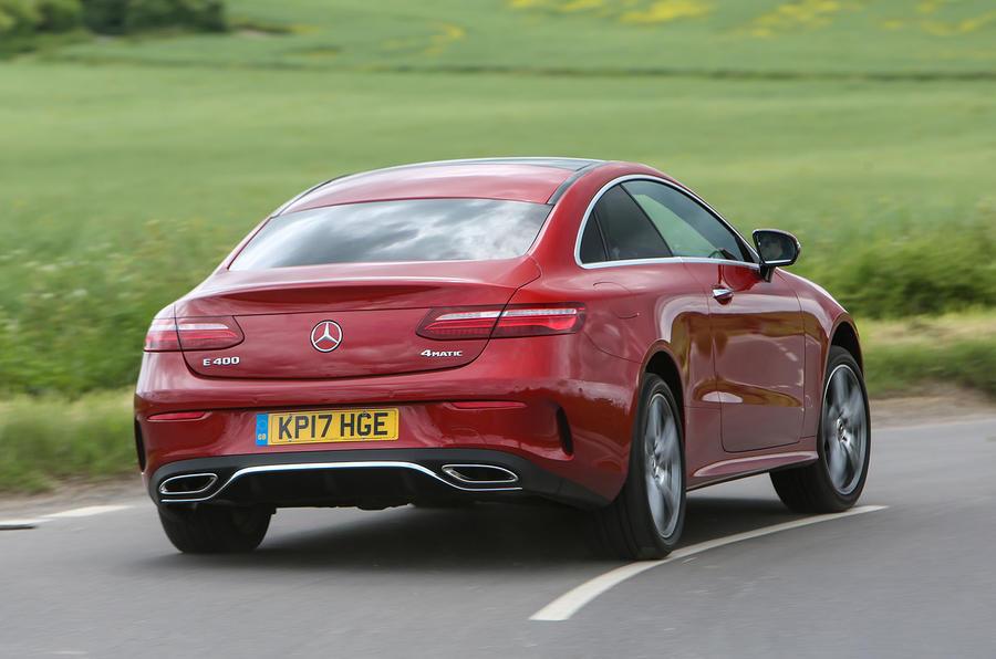 Mercedes-Benz E-Class Coupé rear cornering