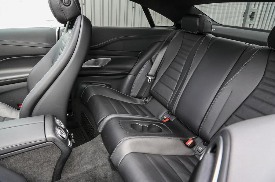 Mercedes-Benz E-Class Coupé rear seats
