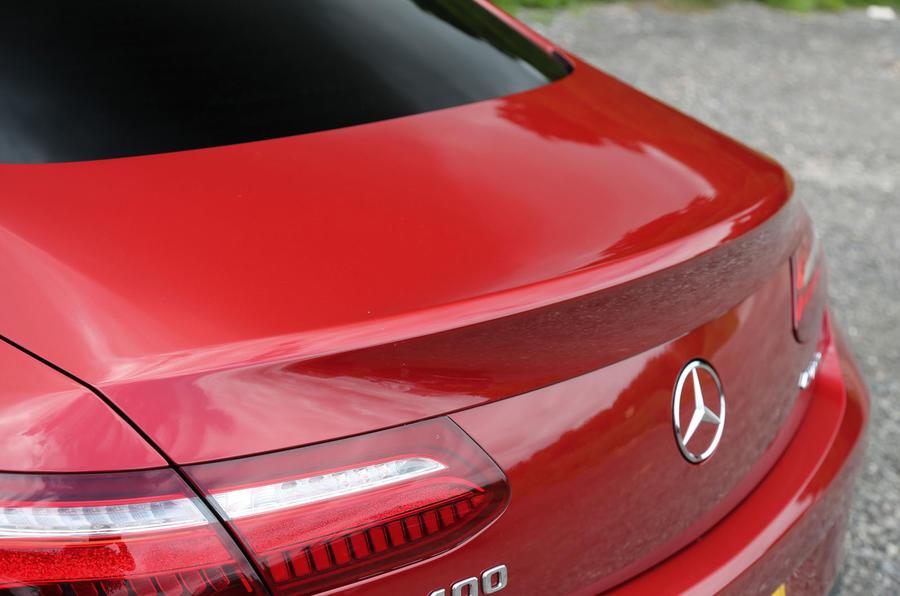Mercedes-Benz E-Class Coupé rear end