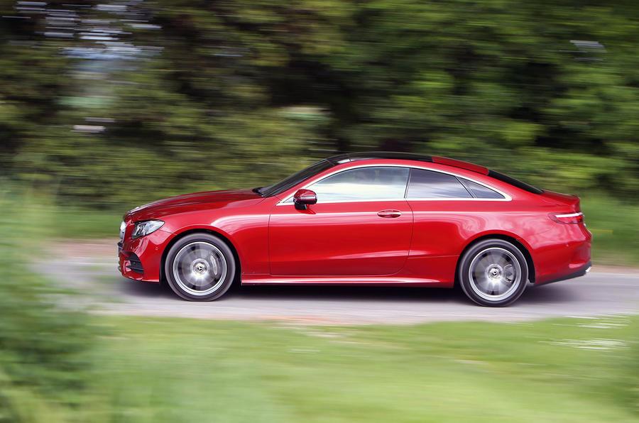 Mercedes-Benz E-Class Coupé side profile