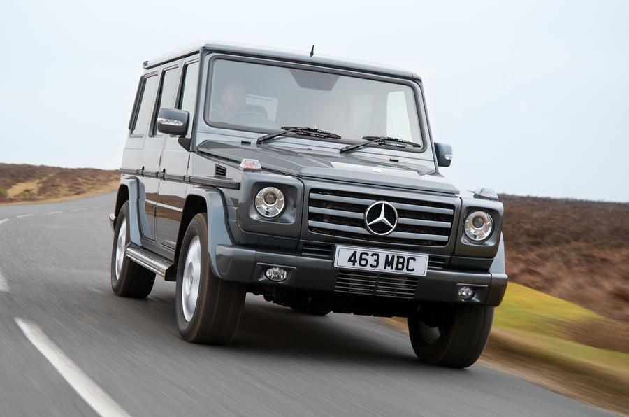 Mercedes-Benz G-Class front quarter