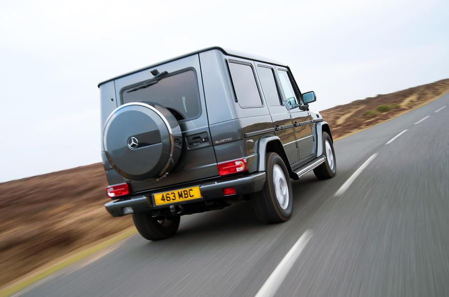 Mercedes-Benz G-Class rear quarter