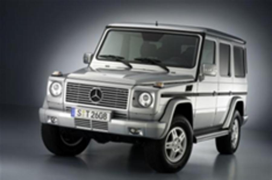 First photos of tweaked G-wagen