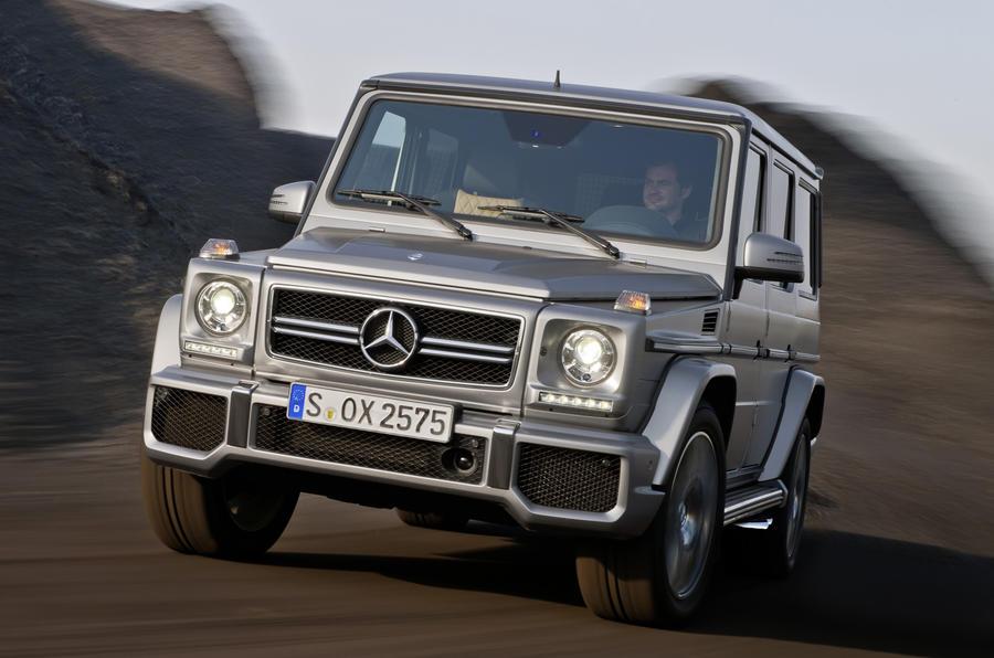 Beijing motor show: Mercedes G63 AMG