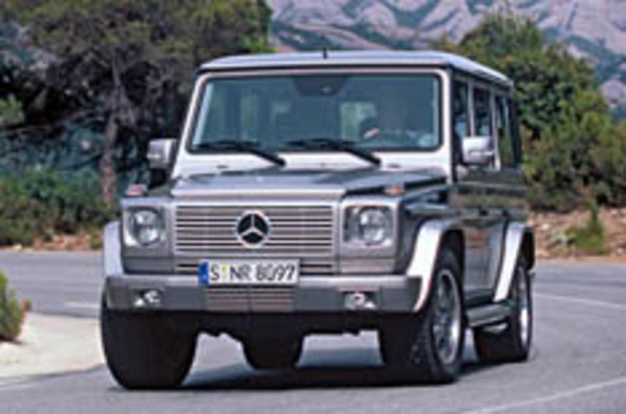 UK gets tweaked G55 AMG