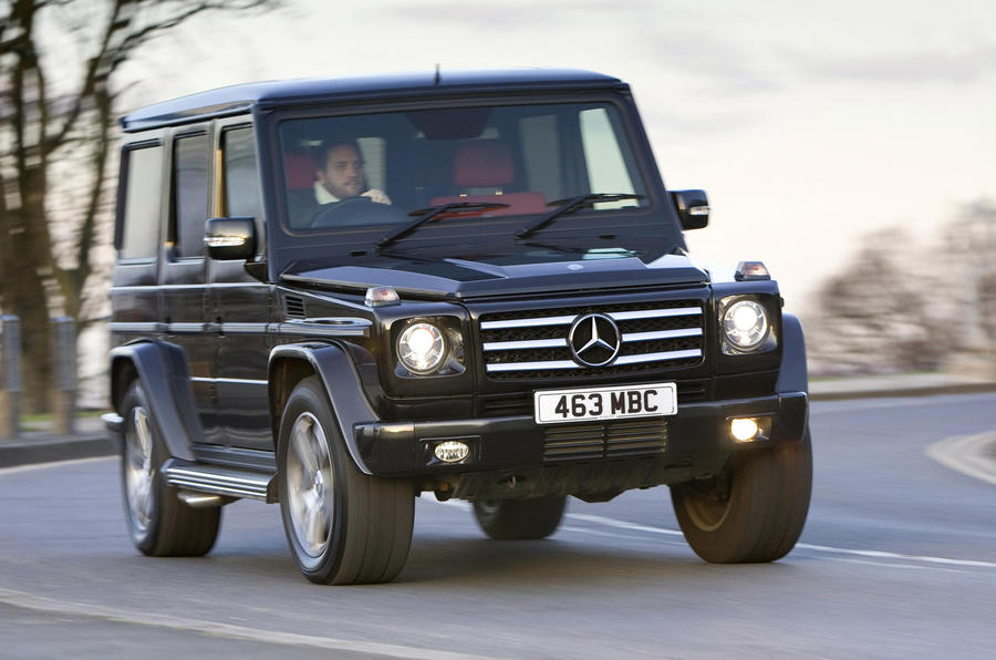 Mercedes G-class back in the UK