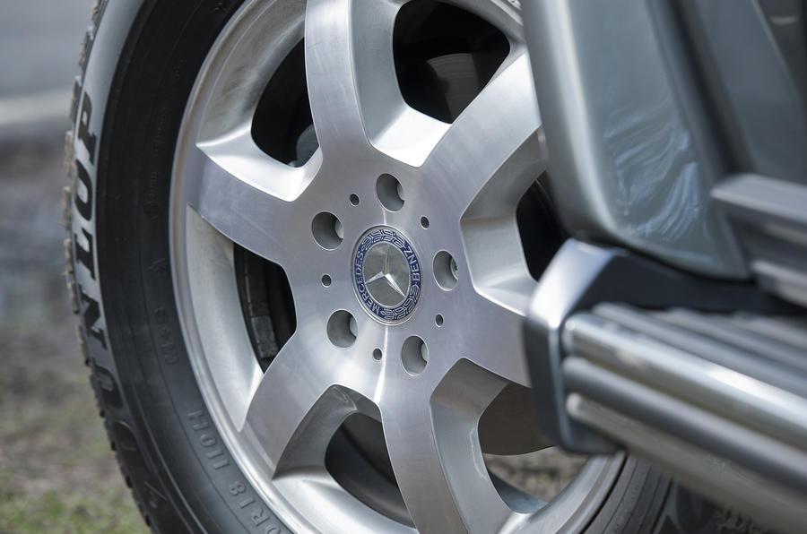 Mercedes-Benz G-Class alloy wheels