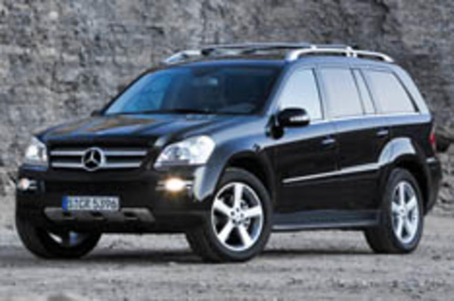 Mammoth Mercedes GL breaks cover