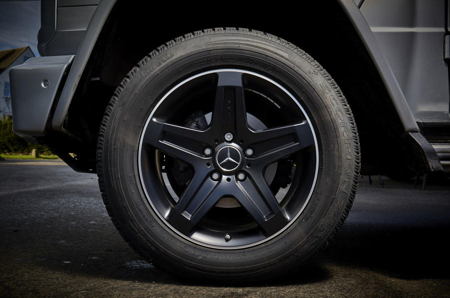 Mercedes-Benz G-Class alloy wheels