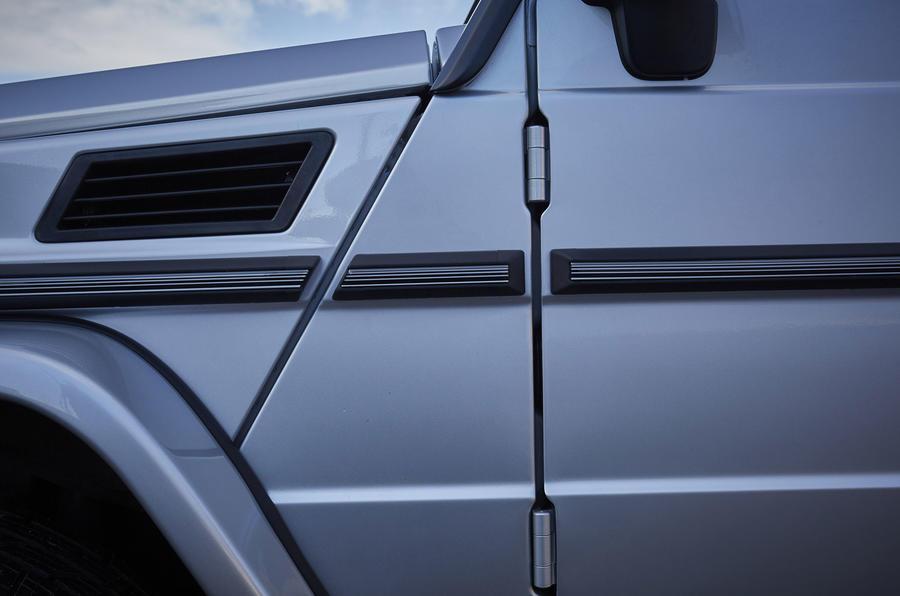 Mercedes-Benz G-Class door hinges