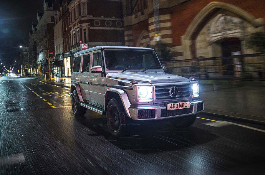 Mercedes benz g class review 2018 autocar for Mercedes benz boxy suv