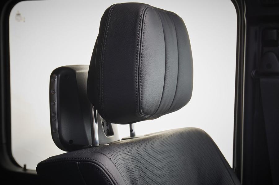 Mercedes-Benz G-Class head rest
