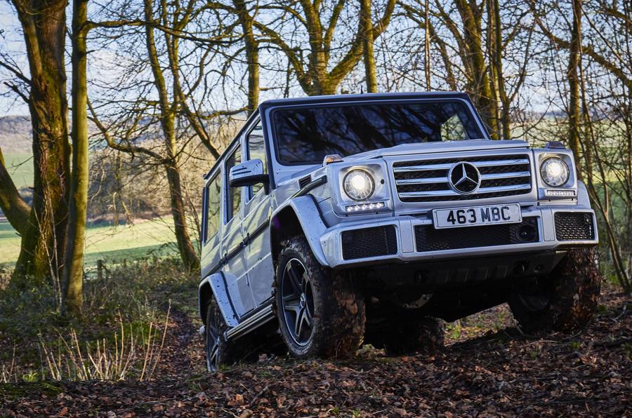 Mercedes-Benz G-Class off-roading