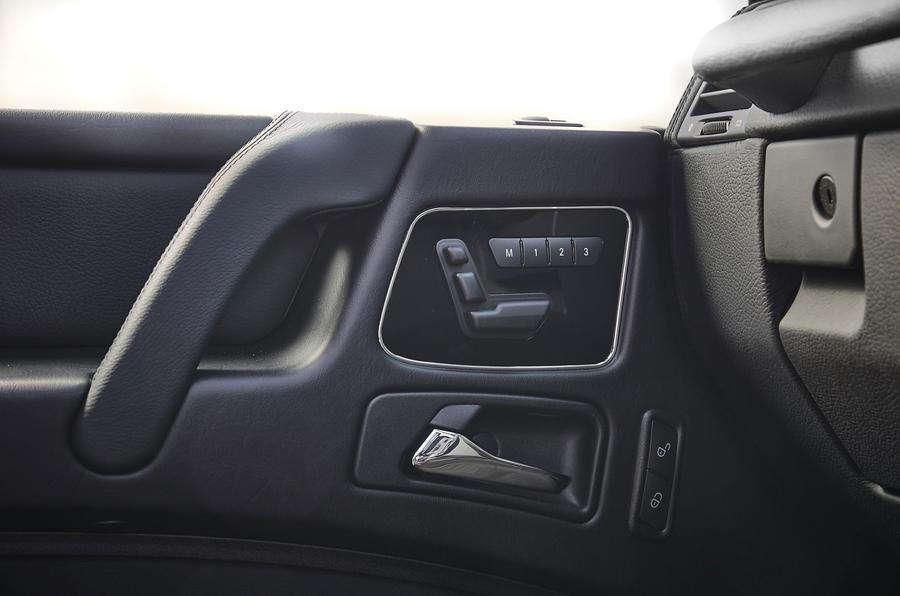 Mercedes-Benz G-Class door cards