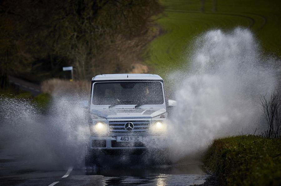 Mercedes-Benz G-Class wading