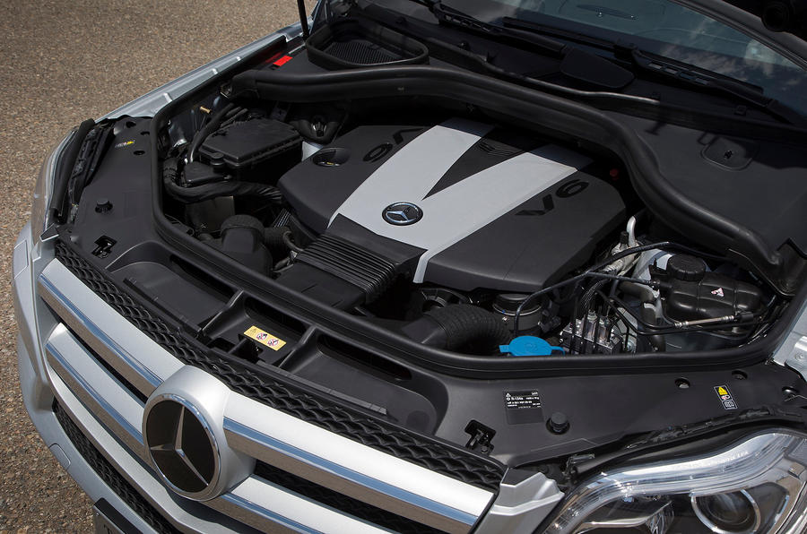3.0-litre V6 Mercedes-Benz GL 350 engine