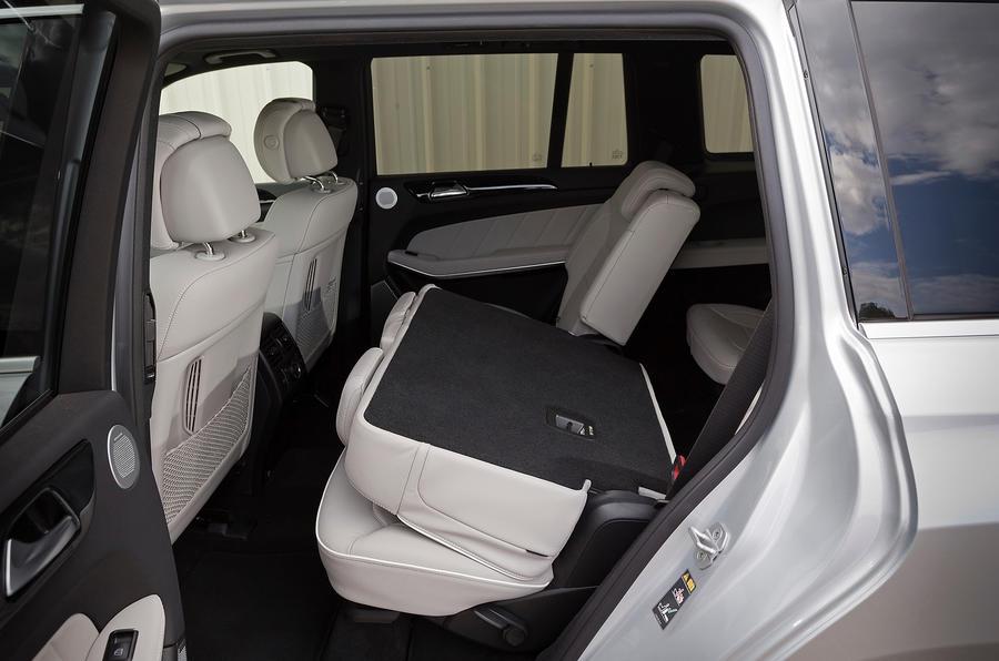 Mercedes-Benz GL 350 seating flexibility