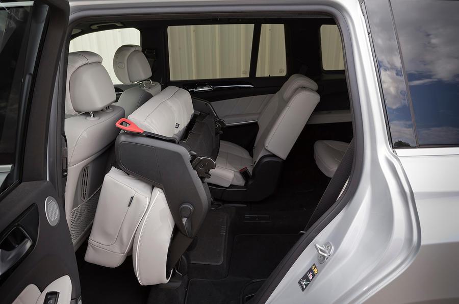 Mercedes-Benz GL 350 folded seats