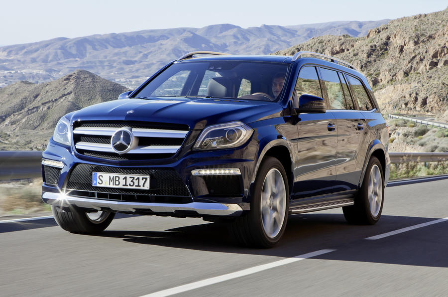 New Mercedes GL leaks out