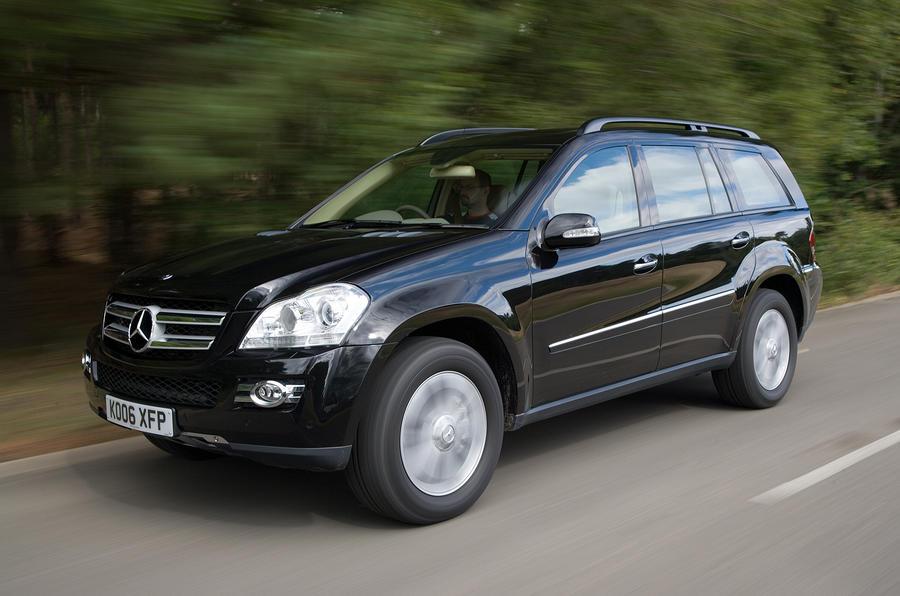 4 star Mercedes-Benz GL