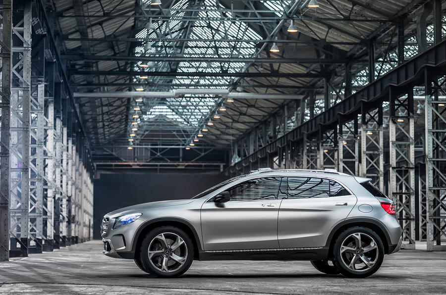 Mercedes-Benz to launch production version of Concept GLA