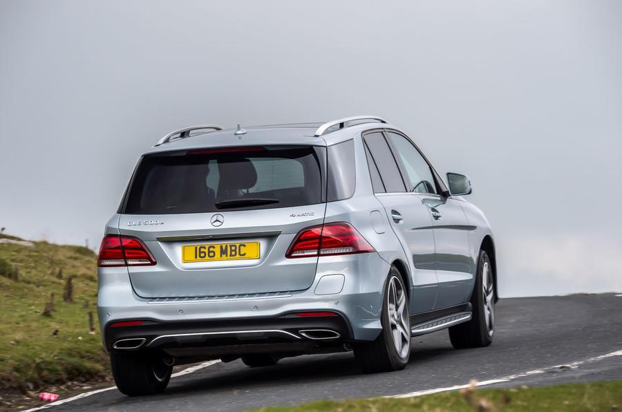 Mercedes-Benz GLE rear
