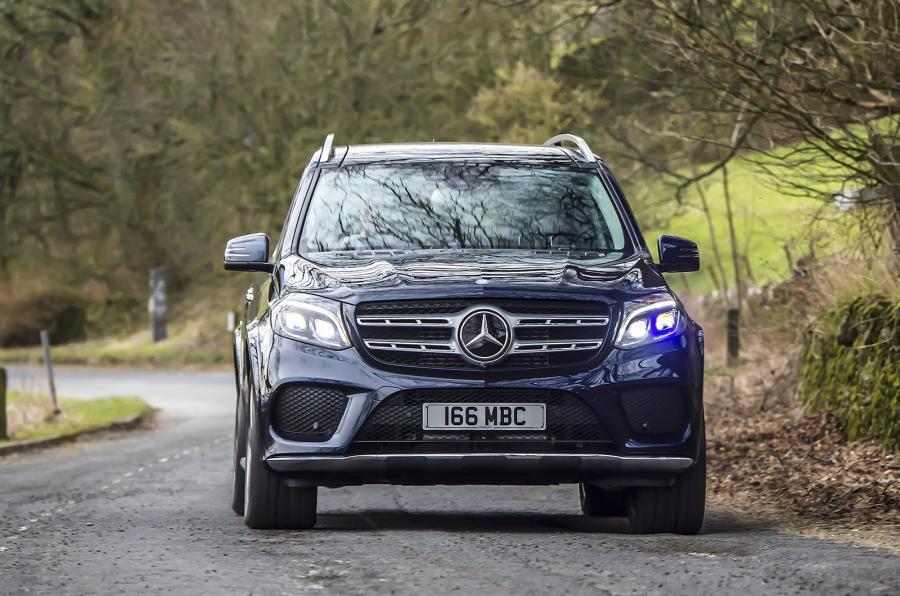 Mercedes-Benz GLS front end