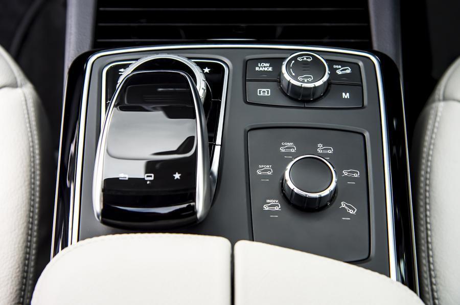 Mercedes-Benz GLS off-road modes