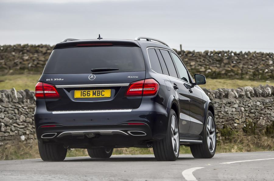 Mercedes-Benz GLS rear cornering
