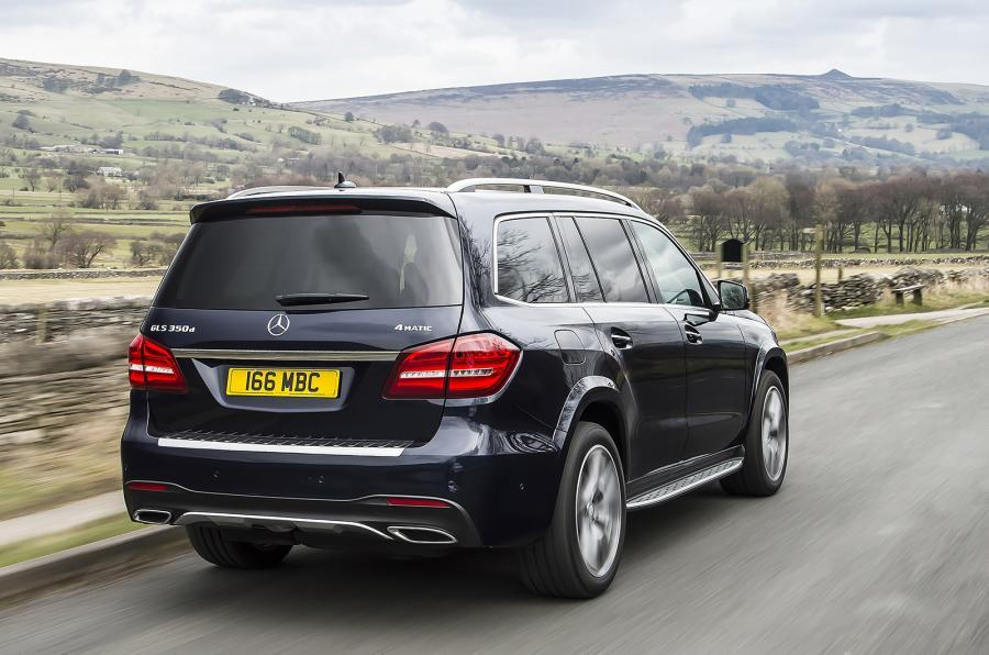 Mercedes-Benz GLS rear