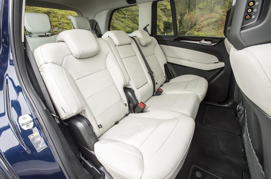 Mercedes-Benz GLS rear seats