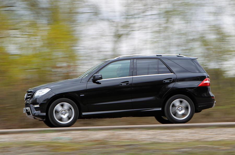 Mercedes-Benz M-Class side profile