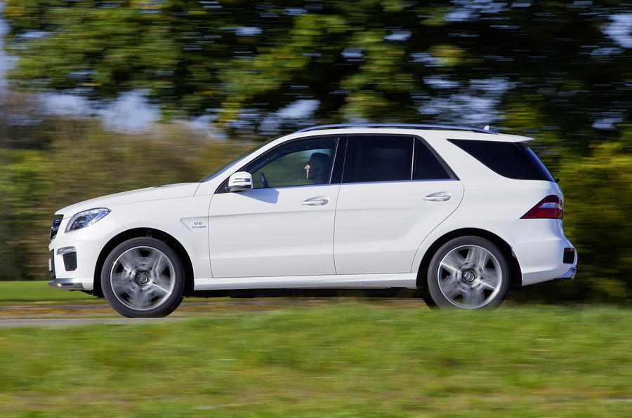 Mercedes ML63 AMG to cost £83k