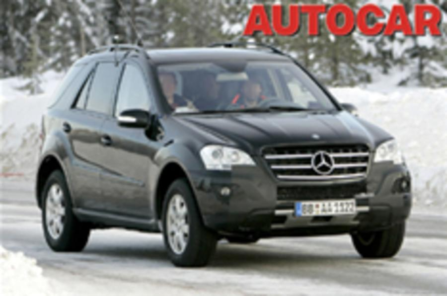 Spied: New Mercedes M-Class
