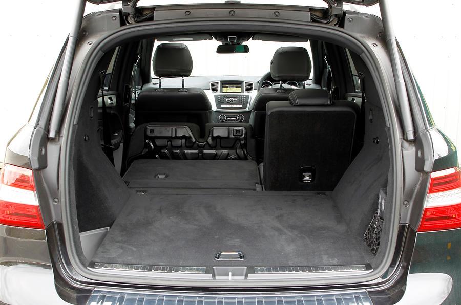 Mercedes-Benz M-Class boot space