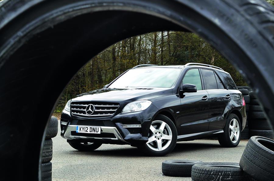 4 star Mercedes-Benz M-Class