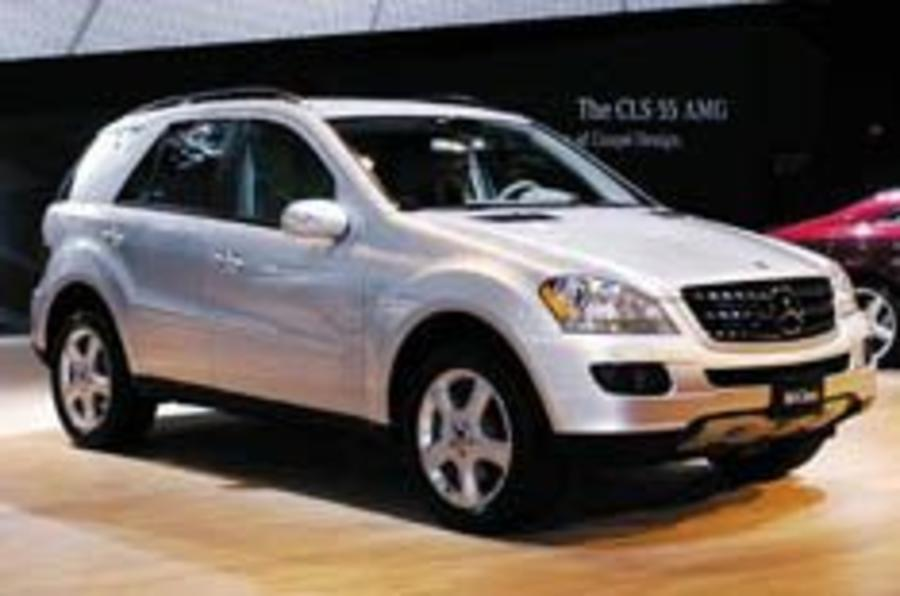 New M-class gets hybrid drive