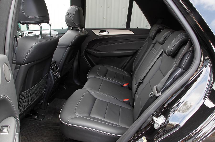 Mercedes-Benz M-Class rear seats