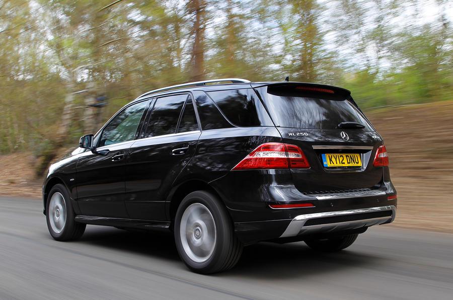 Mercedes-Benz M-Class rear quarter