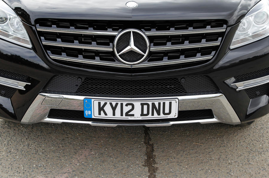 Mercedes-Benz M-Class front grille